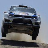 Los Volkswagen Polo R WRC también vuelan