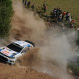 Nadie puede frenar a Ogier en el Rally de Italia