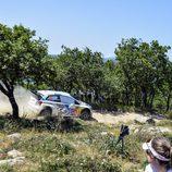 Sebastien Ogier surca el 'Monte Lerno' de Cerdeña