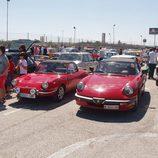 Fiat y Alfa Romeo Spider