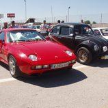 Porsche 928 vs Baja Bug - delantera