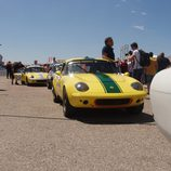 Lotus Elise saliendo a pista