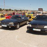 Jaguar XJ-S y Mercedes Benz 500 SL