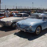 Volkswagen Karmann Ghia y Volvo P1800