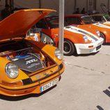 Diversos Porsche 911 de carreras