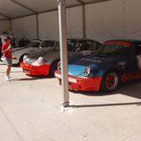 Porsche 911 RS estáticos