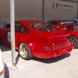 Detalle alerón trasero Carrera RSR
