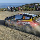 Martin Prokop consigue puntuar en el Rally de Cerdeña