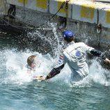 Ogier y Latvala se tiran al puerto de Anghelo