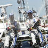 Champagne para Sebastien Ogier en el Rally de Italia