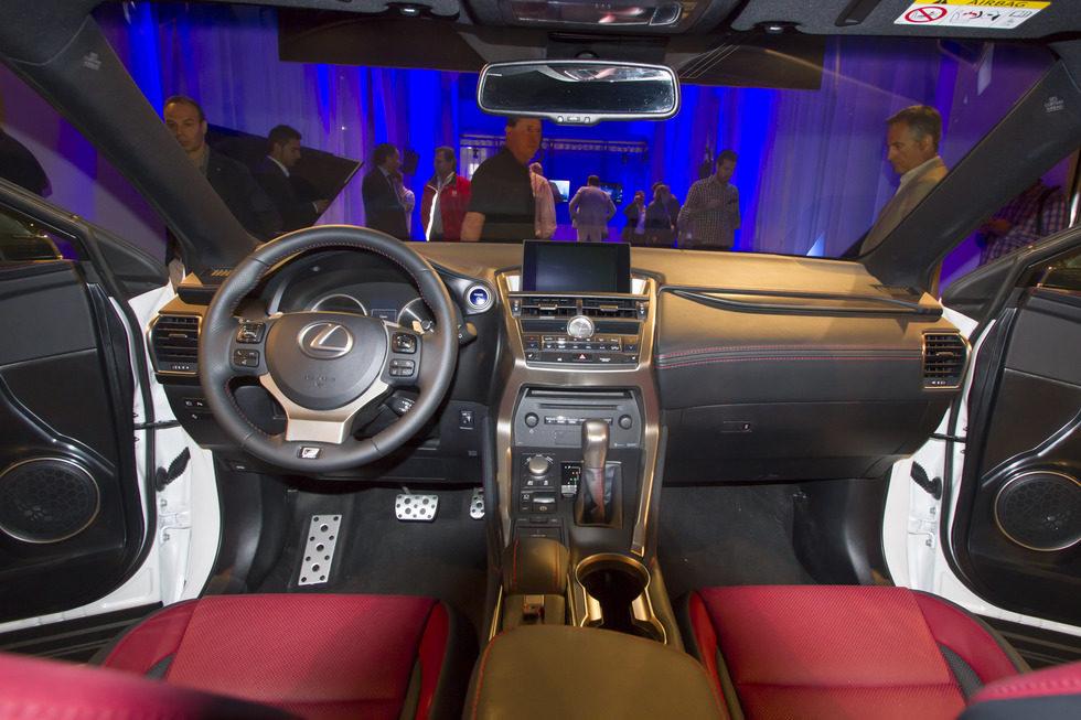 Galeria Fotografica Del Lexus Nx 300h Galeria En Motor Y Racing