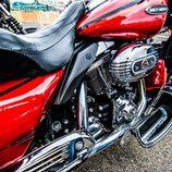 Detalle de la Harley Davidson Electra Glide