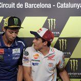 Siempre hay buen rollo entre Rossi y Márquez