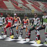 Los pilotos de MotoGP se pasan al fútbol
