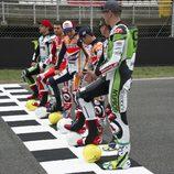 Alineación de MotoGP para el Mundial de Fútbol de Brasil