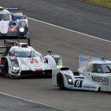 Nissan ZEOD RC por delante de los LMP1