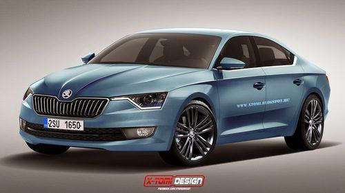 Skoda Octavia coupe por X-Tomi Design