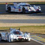 Dos dimensiones, camino al box y la recta de Le Mans