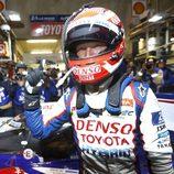 Kazuki Nakajima fue el autor de la pole en el Toyota #7