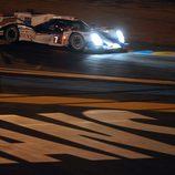 Última curva para el Toyota #7 antes de su pole