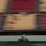 Héctor Barberá en la recta de Montmeló en el FP1