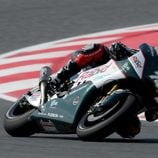 Michael Laverty intentando progresar con PBM