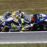 Tranquilo viernes en Catalunya para Valentino Rossi