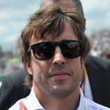 Fernando Alonso realizó el protocolo de salida de las 24h de Le Mans