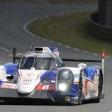 El Toyota #8 fue una de las primeras victimas de Le Mans