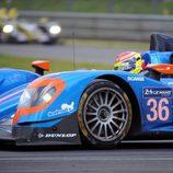 Alpine A450b de Signatech en acción en Le Mans