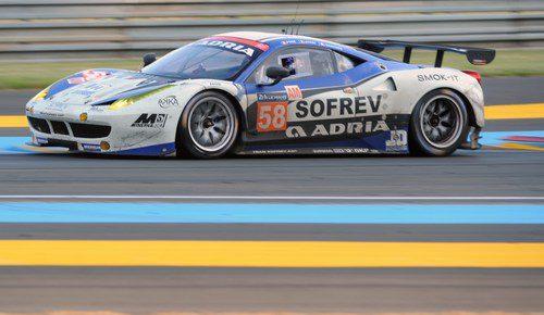 Ferrari #58 del ex futbolista francés Fabien Barthez