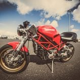 Ducati S2R lateral