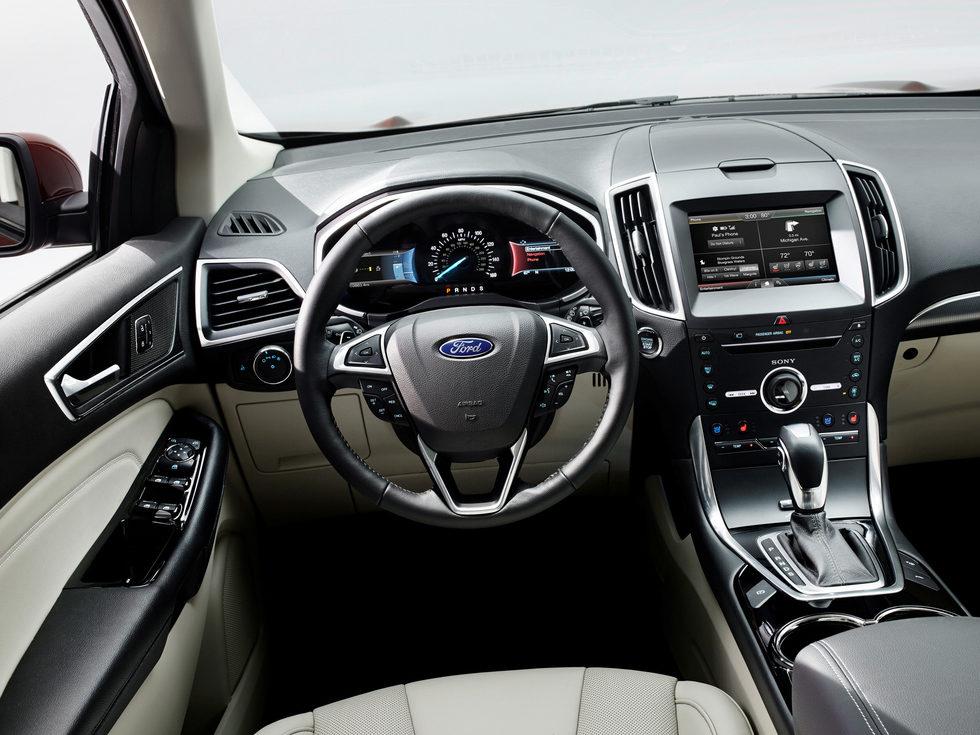 Ford Edge 2014 Interior Titanium Foto 15 De 20 En Galer A 39 Ford Edge 2014 39 En Motor Y Racing