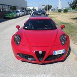 Prueba: Alfa Romeo 4C - Frontal en detalle