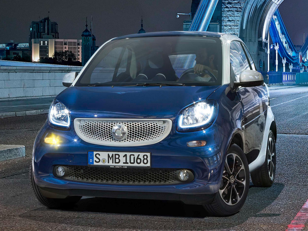 Smart ForTwo 2015 - Frontal