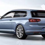 Trasera Volkswagen Passat Shooting Brake