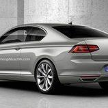 Trasera Volkswagen Passat Coupé