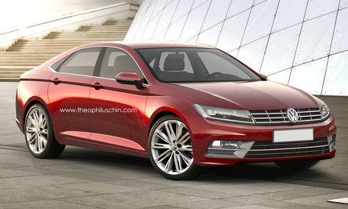 Volkswagen Passat CC render