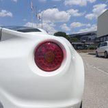 Alfa 4c - Paso de rueda abombado
