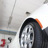Alfa 4c - Neumáticos traseros