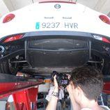 Alfa 4c - perspectiva inferior trasera