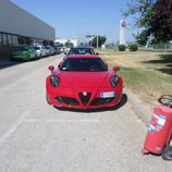 Alfa 4c - Rosso frontal