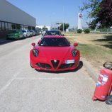Alfa 4c - Rosso frontal