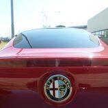 Alfa 4c - Rosso logo