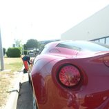 Alfa 4c - Rosso piloto trasero