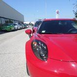 Alfa 4c - Rosso lateral