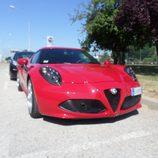 Alfa 4c - Rosso frontal inferior