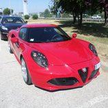 Alfa 4c - Rosso tres cuartos delantero