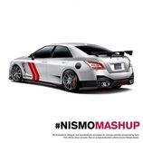 Nissan MASHUP Renders - GTR/Maxima trasera