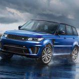Range Rover Sport SVR - delantera en pista